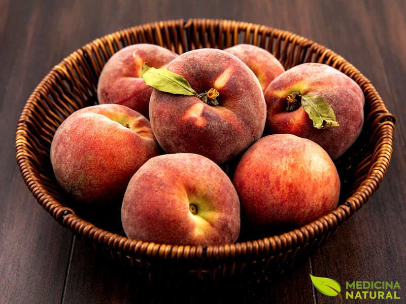 Pêssego (pessegueiro) - Prunus persica